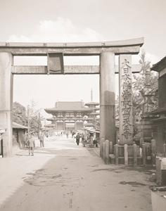 四天王寺の門前